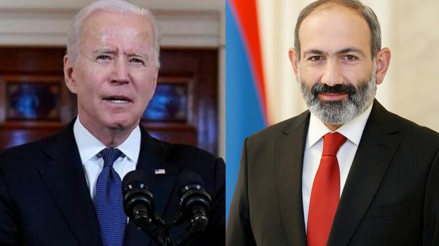 Joe Biden congratulates Armenian people and Nikol Pashinyan on elections