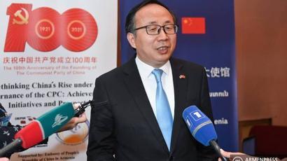 Նման արտահայտություն չի արվել․ Ֆան Յոնը պարզաբանել է Ադրբեջանում Չինաստանի դեսպանին վերագրվող հայտարարությունը |armenpress.am|