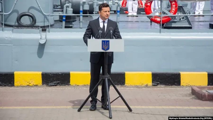 Ուկրաինան շարունակում է հզորացնել երկրի ռազմածովային ուժերը․ Զելենսկի |azatutyun.am|