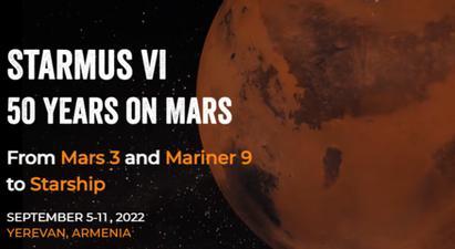 Գիտակրթական և մշակութային խաչմերուկում. Հայաստանում կանցկացվի «STARMUS FESTIVAL VI. 50 տարի Մարսի վրա» փառատոնը