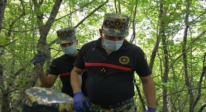 Մարտունու շրջանի՝ Ադրբեջանի կողմից օկուպացված հատվածում աճյունների որոնումներն այսօր արդյունք չեն տվել