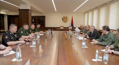 Վաղարշակ Հարությունյանն ընդունել է ՌԴ ԶՈՒ ԳՇ պետի տեղակալին. կանցկացվեն շտաբային բանակցություններ