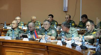 ՌԴ ԶՈՒ ԳՇ պետի տեղակալի հետ քննարկվել է շտաբային բանակցությունների օրակարգը