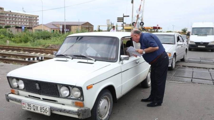 Հարավկովկասյան երկաթուղին անցկացրել է գծանցներում անվտանգության կանոնների մասին իրազեկման միջոցառում