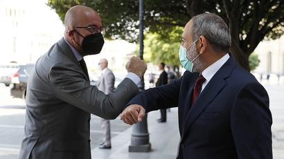 EU-Armenia relations are developing dynamically. Nikol Pashinyan and Charles Michel meet in Yerevan