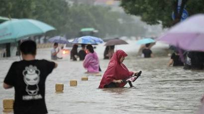 Չինաստանում ջրհեղեղի զոհերի թիվը հասել է 63-ի |armenpress.am|