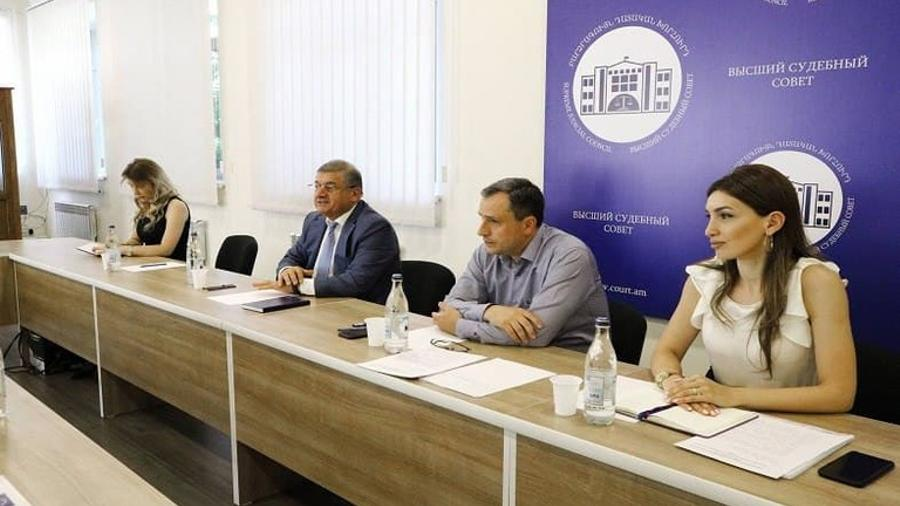 Գագիկ Ջհանգիրյանը հանդիպել է Հայաստանում «Արդարադատության համակարգի ամրապնդում» ծրագրի ղեկավարի հետ