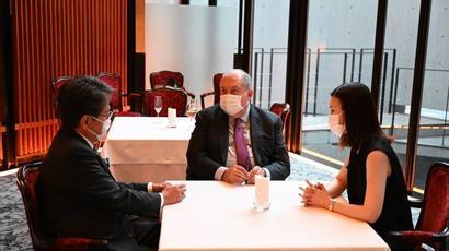 ՀՀ նախագահը և Միջազգային համագործակցության ճապոնական բանկի ղեկավարը փոխգործակցության հարցեր են քննարկել
