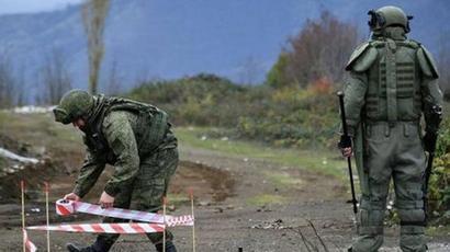 2020-ի նոյեմբերի 23-ից ի վեր Լեռնային Ղարաբաղում չպայթած զինամթերքից մաքրվել է 2213,5 հա տարածք. ՌԴ ՊՆ |tert.am|