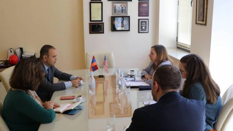 ԱՄՆ-ը կարևորում է հայկական սփյուռքի դինամիկ ջանքերը. դեսպան Լին Թրեյսի