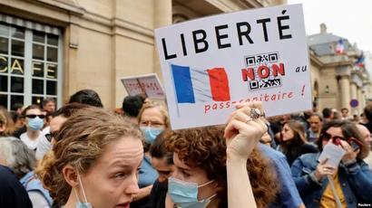 Կորոնավիրուսի դեմ չպատվաստվող ֆրանսիացիները կարող են ազատվել աշխատանքից |azatutyun.am|