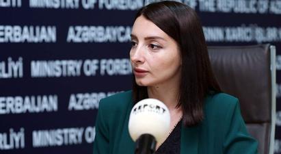 Կոչ ենք անում Հայաստանին ընդունել տարածաշրջանային նոր իրողությունները, դադարեցնել ռազմական սադրանքները և սկսել սահմանային դելիմիտացիայի շուրջ բանակցությունները․ Ադրբեջանի ԱԳՆ մամուլի խոսնակ