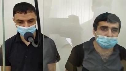 Դավիթ Դավթյանն ու Գևորգ Սուջյանը Բաքվի ծանր հանցագործությունների դատարանում դատապարտվեցին 15 տարվա ազատազրկման