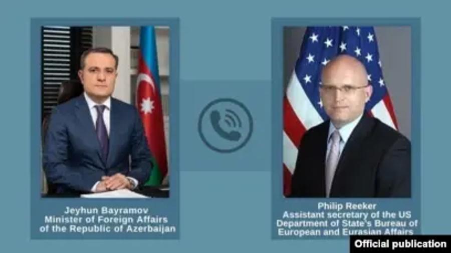 Ռիքերը Բայրամովի հետ հեռախոսազրույցում մտահոգություն է հայտնել սահմանին լարվածության կապակցությամբ  azatutyun.am 