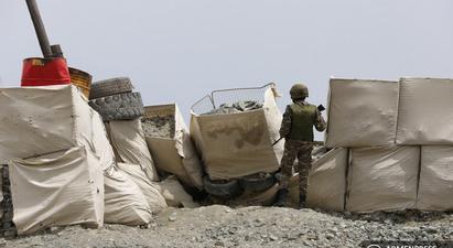 Ադրբեջանական զինված ուժերը կրակ են բացել Երասխի հատվածում տեղակայված հայկական դիրքերի ուղղությամբ. ՊՆ