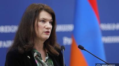 Անն Լինդեն մտահոգված է հայ-ադրբեջանական սահմանին վերջին օրերին առկա լարվածությամբ |armenpress.am|