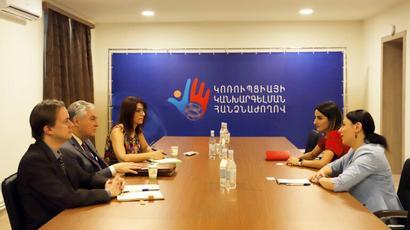 ԱՄՆ միջազգային զարգացման գործակալությունը մտադիր է Հայաստանում առավել ակտիվ աջակցել կոռուպցիայի կանխարգելմանը