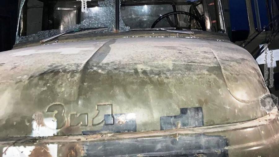 Ադրբեջանական ԶՈՒ ստորաբաժանումները կրակ են արձակվել թիկունքային ապահովման մեքենայի վրա․ հայկական կողմից տուժածներ չկան