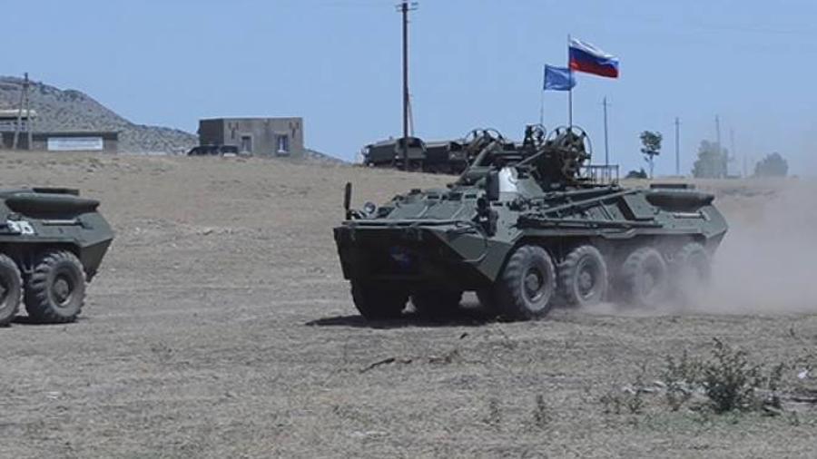 Ռուս խաղաղապահները ժամանակակից մարտի վարման պարապմունքներ են անցկացրել Արցախում |armenpress.am|