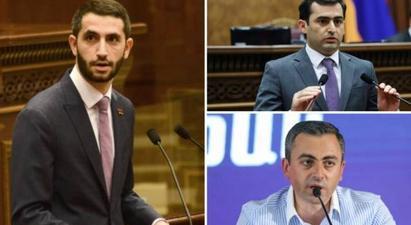 Հայտնի են ԱԺ նախագահի երեք տեղակալների թեկնածուների անունները |armenpress.am|