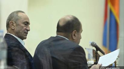 Դատարանը հետաձգեց Ռոբերտ Քոչարյանի և Արմեն Գևորգյանի գործով դատական նիստը   |armenpress.am|