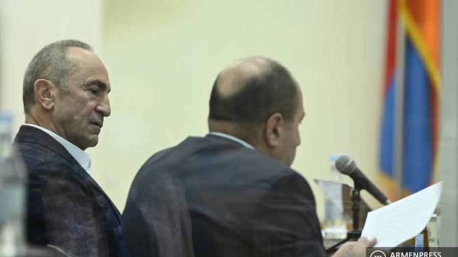 Դատարանը հետաձգեց Ռոբերտ Քոչարյանի և Արմեն Գևորգյանի գործով դատական նիստը    armenpress.am 