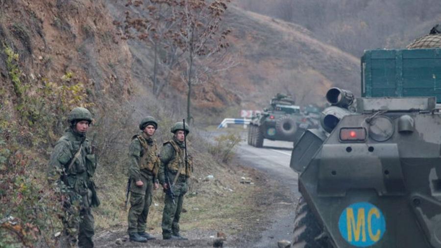 Ռուս խաղաղապահներն ադրբեջանական շինարարական տեխնիկա տեղափոխող 2 շարասյուն են ուղեկցել Լեռնային Ղարաբաղում. ՌԴ ՊՆ  tert.am 