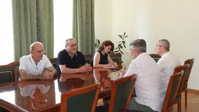 Արթուր Թովմասյանը հյուրընկալել է ՌԴ-ում Արցախի մշտական ներկայացուցիչ Ալբերտ Անդրյանին