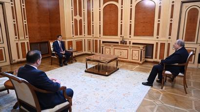 Արմեն Սարգսյանն ու Արման Թաթոյանը քննարկել են հայ-ադրբեջանական սահմանին տիրող իրավիճակը