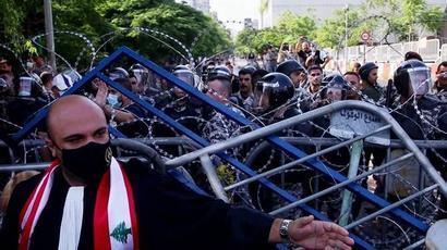 Բեյրութում ոստիկանությունն արցունքաբեր գազ ու ջրցան է կիրառել ցուցարարների դեմ |armenpress.am|