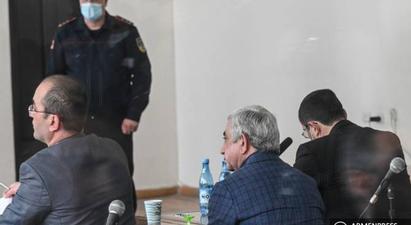 Սերժ Սարգսյանի և մյուսների գործով դատական նիստում սկսվել է ապացույցների հետազոտման փուլը |armenpress.am|