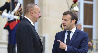 Ֆրանսիայի և Ադրբեջանի նախագահները հեռախոսազրույց են ունեցել   |armenpress.am|