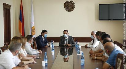 Քաղաքապետ Հայկ Մարությանը ներկայացրել է Նոր Նորք վարչական շրջանի նոր ղեկավարին