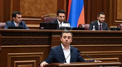 Իշխան Սաղաթելյանն ընտրվեց ԱԺ փոխնախագահ |armenpress.am|