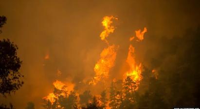 Հունաստանի Էվբեան կղզում անտառային հրդեհները ոչնչացրել են տասնյակ բնակավայրեր, տարհանվել է ավելի քան 2 հազար մարդ |azatutyun.am|