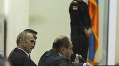 Ռոբերտ Քոչարյանի և Արմեն Գևորգյանի գործով դատական նիստը հետաձգվեց. Գևորգյանին բերման կենթարկեն դատարան |armenpress.am|