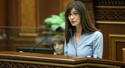 Սերժ Սարգսյանին «մերժված» անվանելու համար Արփի Դավոյանը զրկվեց մեկ նիստի ընթացքում ելույթի իրավունքից |armenpress.am|