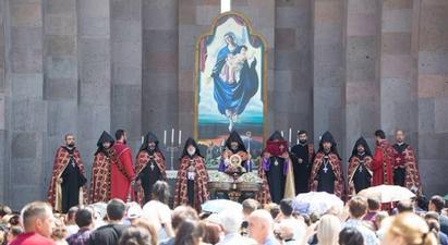 Մայր Աթոռում նշվել է Սուրբ Աստվածածնի Վերափոխման տոնը