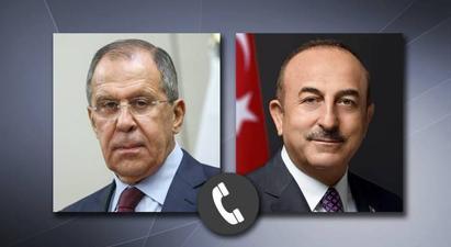 ՌԴ արտգործնախարար Լավրովը հեռախոսազրույց է ունեցել թուրք գործընկերոջ հետ |armenpress.am|