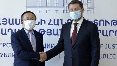 Կարեն Անդրեասյանը և Չինաստանի դեսպանը քննարկել են քրեակատարողական և դատաիրավական ոլորտներում համագործակցելու հնարավորությունները |armenpress.am|