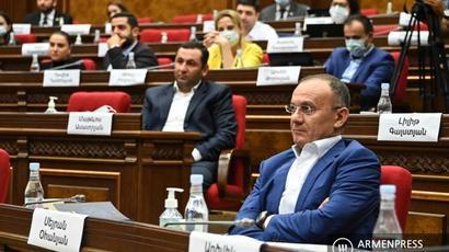 «Հայաստան» խմբակցությունը չի մասնակցի կառավարության ծրագրի քվեարկությանը |armenpress.am|