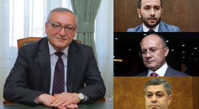 Արցախի ԱԺ նախագահը Հայկ Կոնջորյանին, Սեյրան Օհանյանին և Արթուր Վանեցյանին հրավիրել է Արցախ