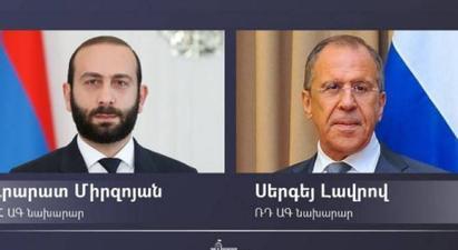 Արարատ Միրզոյանը Մոսկվայում Սերգեյ Լավրովի հետ կքննարկի եռակողմ պայմանավորվածությունների իրականացման ընթացքը․ ՌԴ ԱԳՆ  ․ |armenpress.am|