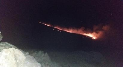 Առավոտյան ժամը 11-ից ադրբեջանական զինծառայողները դիտավորյալ հրդեհներ են գցել Սոթք և Կութ գյուղերի հարևանությամբ. ՄԻՊ