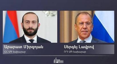 Հայ-ռուսական համագործակցության օրակարգը հագեցած է. կայացել է Արարատ Միրզոյանի հանդիպումը Սերգեյ Լավրովի հետ |armenpress.am|