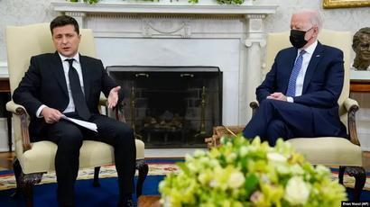 Կիևն ու Վաշինգտոնը դեմ են «Հյուսիսային հոսք 2»-ի կառուցմանը․ Բայդենն ու Զելենսկին համատեղ հայտարարություն են ընդունել |azatutyun.am|