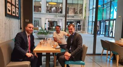 Վահան Քերոբյանը հանդիպել է Լյուքսեմբուրգի էկոնոմիկայի նախարարի հետ