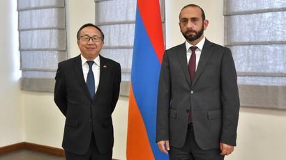 Չինաստանն աջակցում է Հայաստանի ինքնիշխանությանն ու տարածքային ամբողջականությանը. ԱԳ նախարարն ընդունել է ՉԺՀ դեսպանին