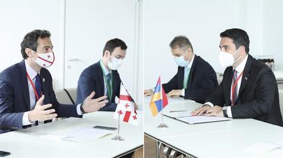 Ալեն Սիմոնյանը Վրաստանի խորհրդարանի նախագահի հետ հանդիպմանը կարևորել է երկու երկրների օրենսդիր մարմինների սերտ համագործակցությունը