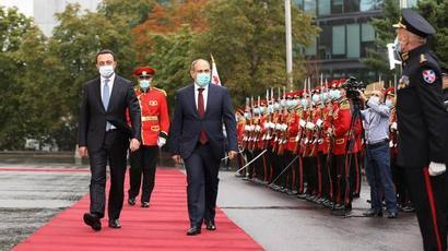 Մեզ համար մեծ կարևորություն ունի տնտեսական և քաղաքական ոլորտներում Հայաստանի կայունությունը․ Ղարիբաշվիլի |armenpress.am|